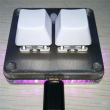 Kiraz kırmızı eksen Mini klavye değiştirme mekanik klavye Sayobot O2C OSU tuş takımı aksesuarları