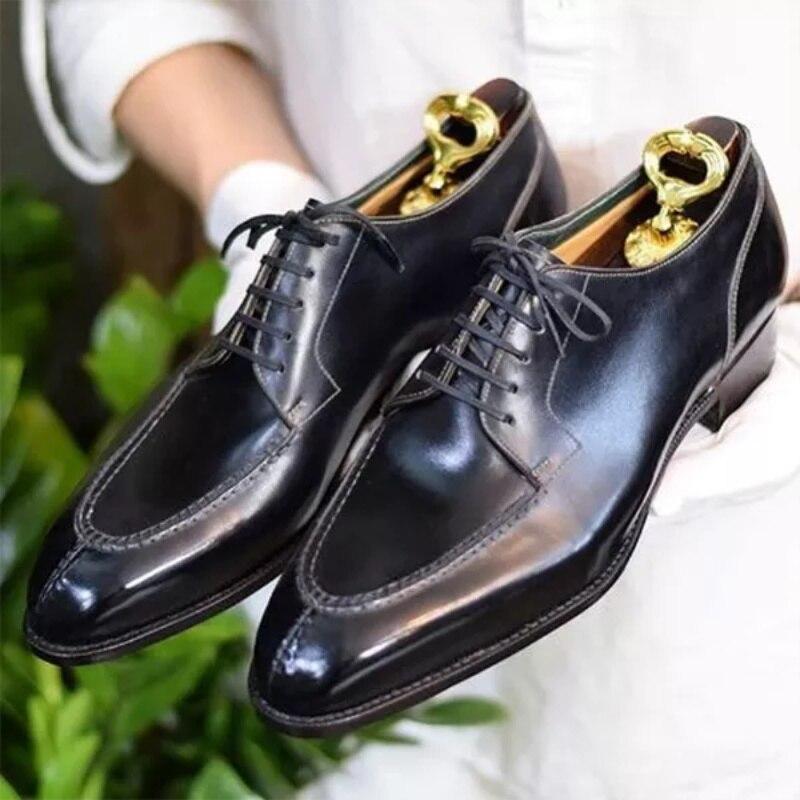 Классические классические туфли оксфорды с разрезом, свадебные туфли, Классическая обувь, мужские классические ботинки, мужские ботинки ...
