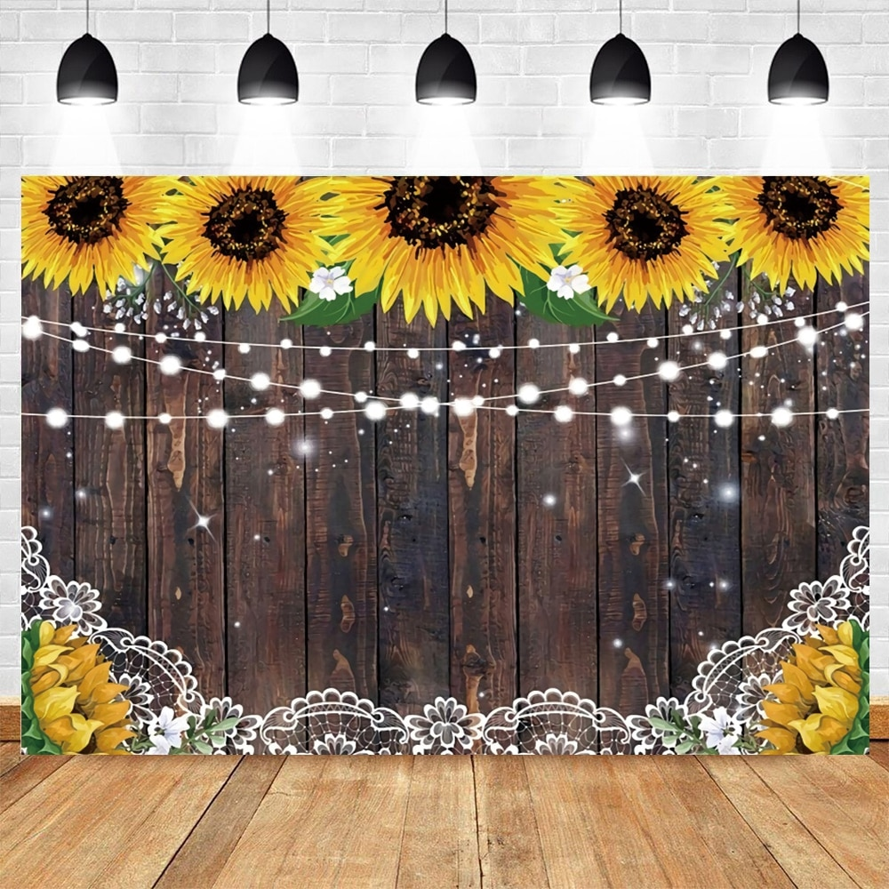 vintage wood board winter christmas tree branch photography backdrop vinyl photographic background for photo studio photophone Sunflower Vintage Wood Board Baby Birthday Wedding Photocall Backdrop Vinyl Photography Background For Photo Studio Photophone