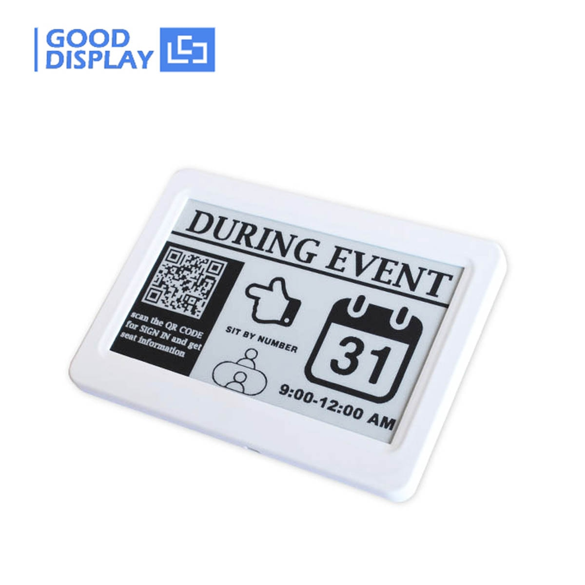 E-ink E Paper Display 7.5 Inch USB Electronic Price Label Epaper Digital Price Tag enlarge