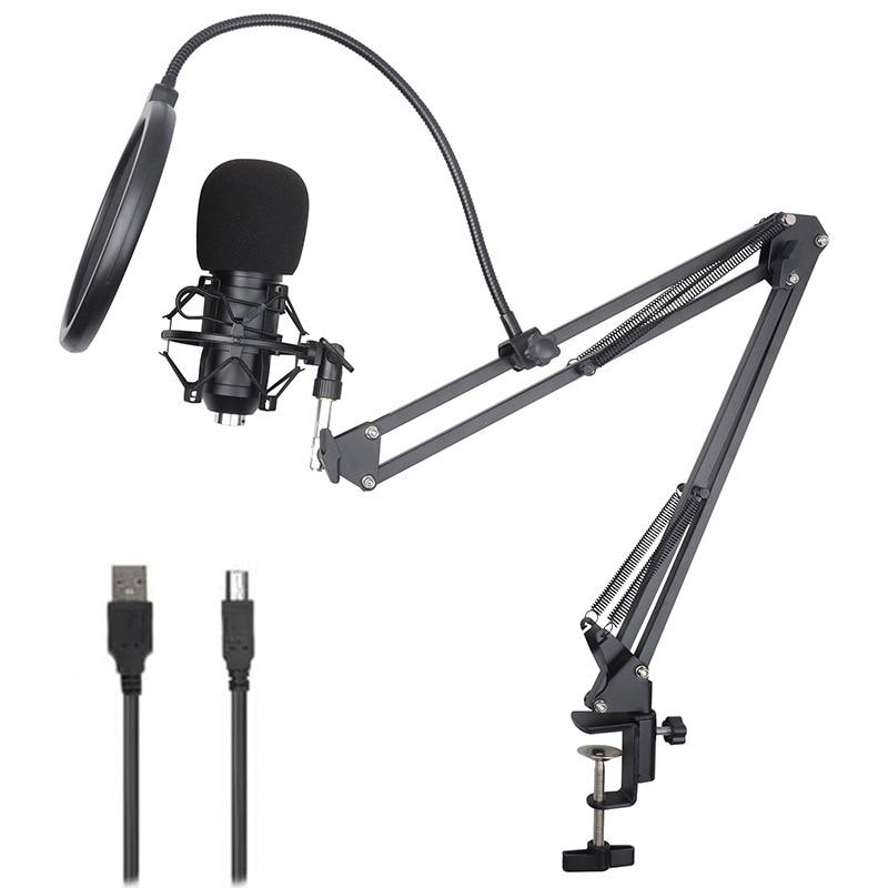 Подставка для микрофона с Bm800 штатив настольная микрофонная стойка держатель