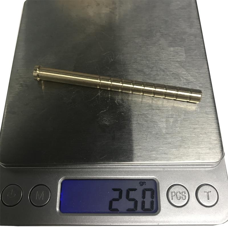 Купить с кэшбэком 12 pcs  Archery Arrow Insert Copper 38/50/100/150/200/250/300 6.2mm Carbon Rod OD7.6mm Bob-Weight Broadhead shooting accessories