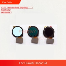 For Huawei Honor 9A Fingerprint Sensor Home Button Key Touch ID Flex Cable Replace Repair Parts