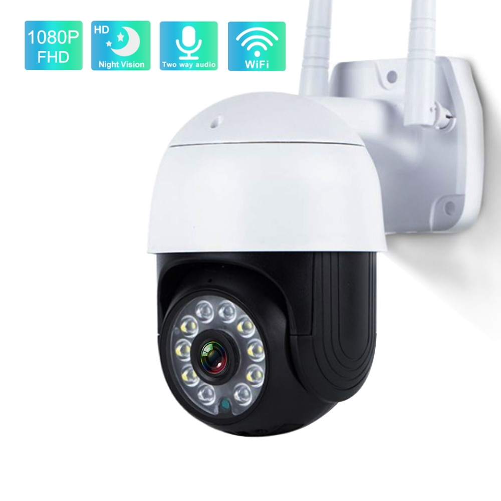 PTZ IP Camera Outdoor 1080P/3MP Wifi Night Vision Two Way Audio Speed Dome Auto Tracking Alarm Home Security Camera Surveillance dahua security camera auto cruise wifi camera ptz network surveillance camera privacy mask two way talk smart tracking