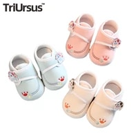 baby shoes newborn pure cotton cute bear paw spring autumn 2021 walkers for baby boys girls soft soled toddler shoe infant 0 12m