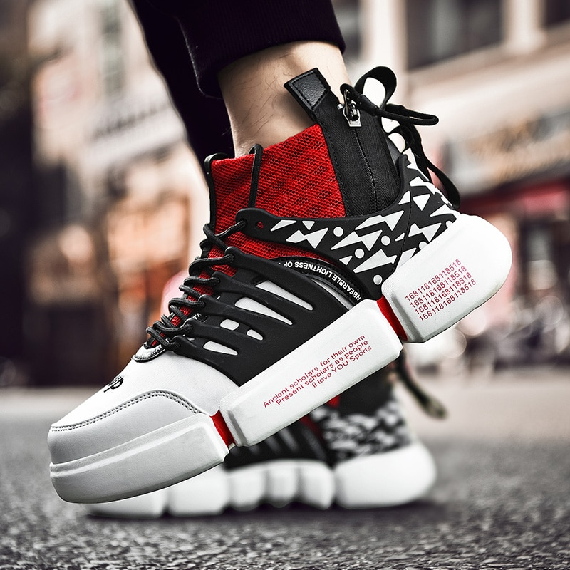 Zapatos casuales de moda para hombres con cordones Pu Joker Leathable simple ocio antideslizante Vulcanize ligero tendencia Aire Libre zapatillas 2020