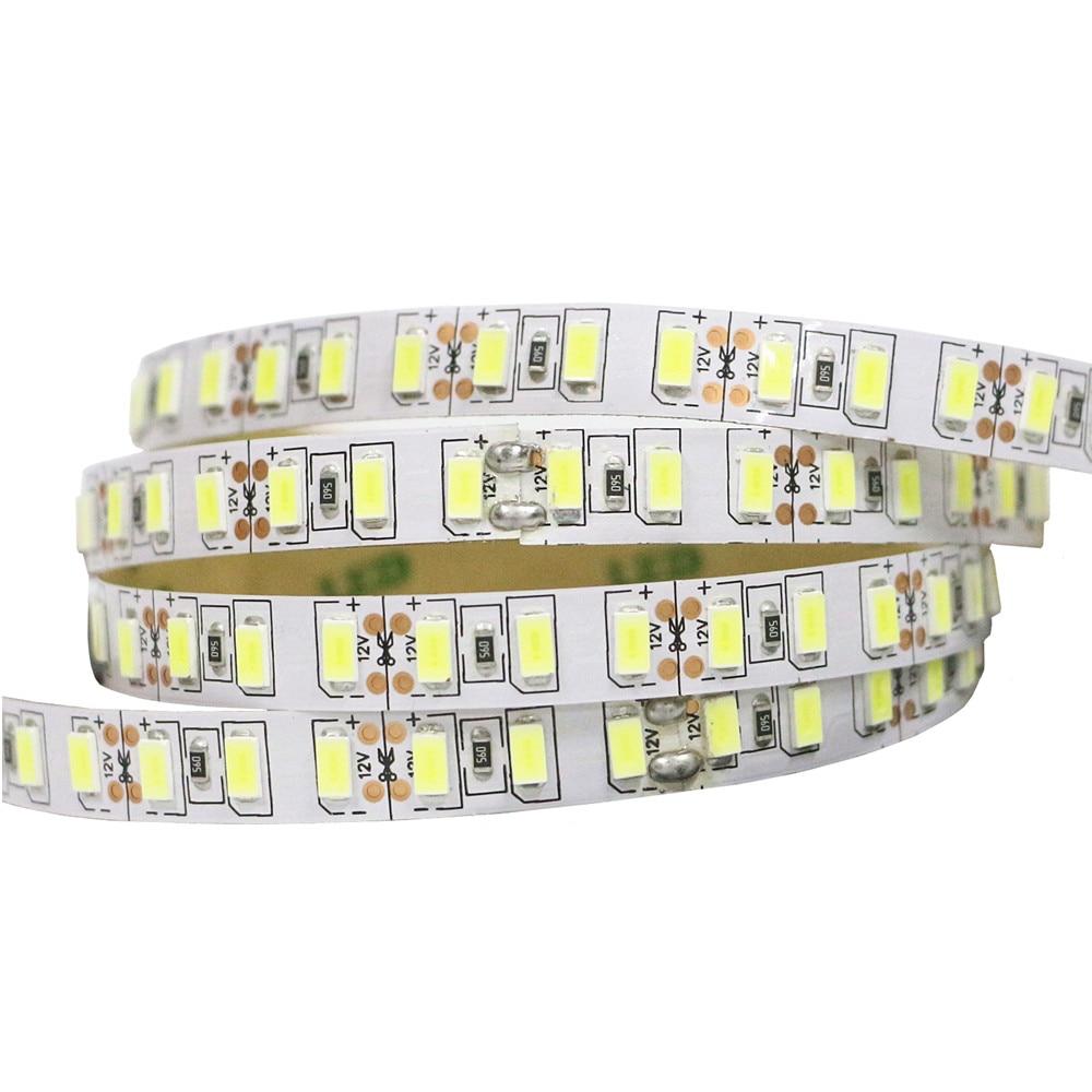 Bande de LED 5630 SMD 120LED s/m 5M 300/450/600 LED s DC 12V haute luminosité Flexible LED ruban de corde lumière blanc chaud/blanc froid