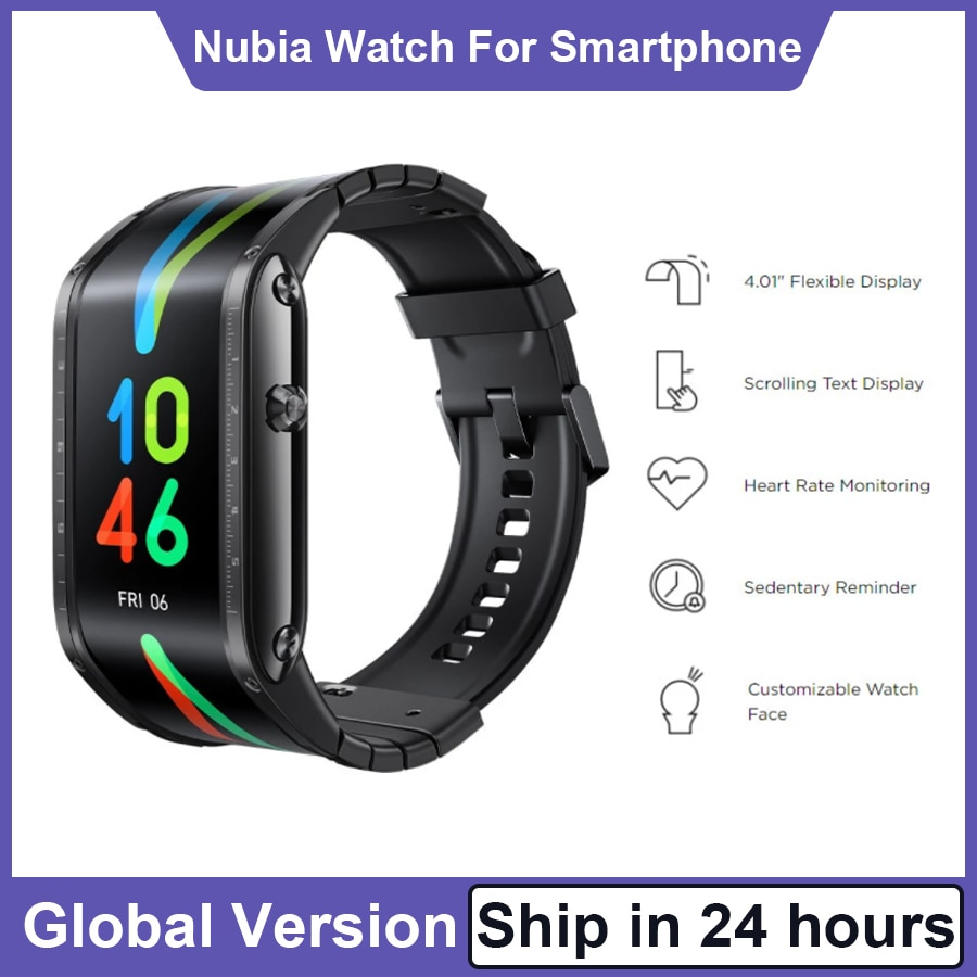 Global Version Nubia Watch 4.01