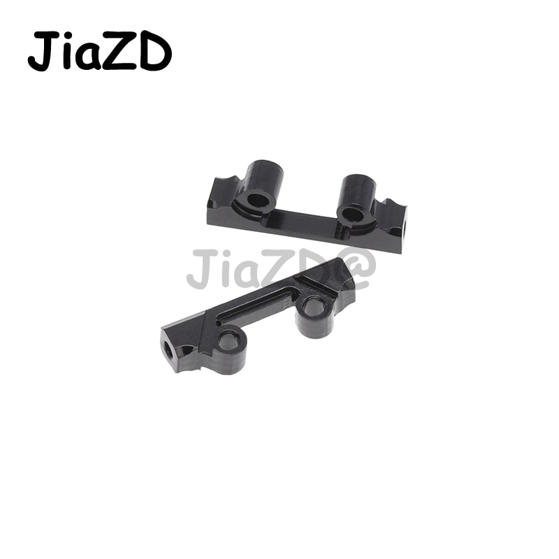 1 Set Chassis Guard Plate Protector Front Rear Axle Guards Skid Plate Set for 1/24 Axial SCX24 90081 RC Cars Accessories Y09 enlarge