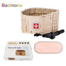Badinono Lumbar Support Decompression Waist Air Traction Brace Spinal Back Relief Belt Backach Pain