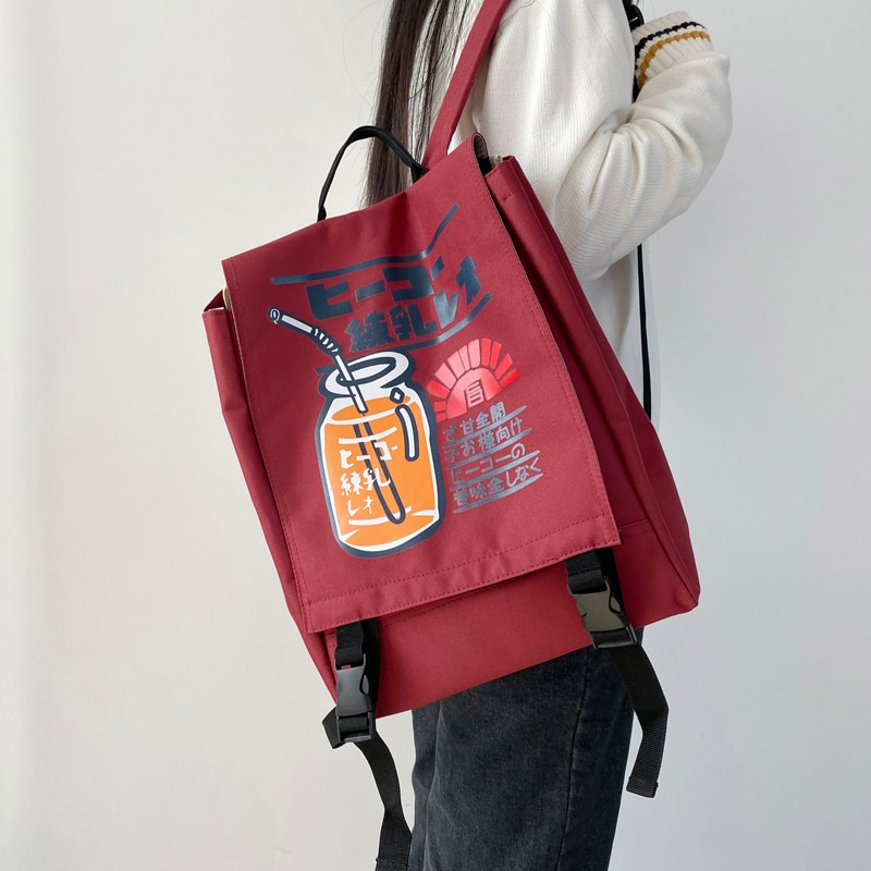 Harajuku Ulzzang Women Backpacks Korean Style College Junior High School Bags for Teenage Girls Bookbag female Travel Backpack
