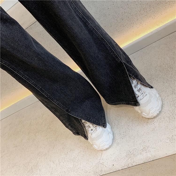 Women Jeans Pants High Waist Jeans Women Streetwear Straight Jean Black 100% Cotton Cargo Pant Harajuku Straight Pants