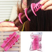2pcs/Set Big Wave Curls Rollers Fashion Hair Styling Tools Not Hurt Hair Curlers Magical Rollers Too
