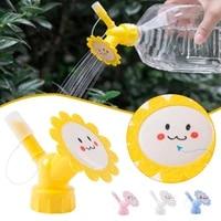 2 in 1 bottle cap sprinkler shower stream nozzles watering device 2 8cm diameter for beverage bottles gardening tool