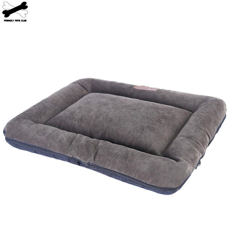 Weichen Hund Bett Matratze Matte Kiste Zwinger Pad Waschbar Tuch Anti-slip Bottom Indoor Outdoor Für Groß Mittel Klein hunde Katzen
