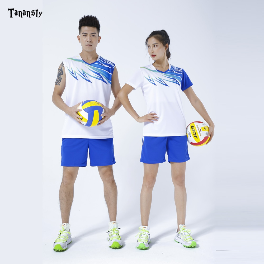 2020 chemises de volley-ball hommes Badminton chemise ping-pong sans manches t-shirts ensemble de Tennis de Table jeu déquipe course Sport Fitness gymnase