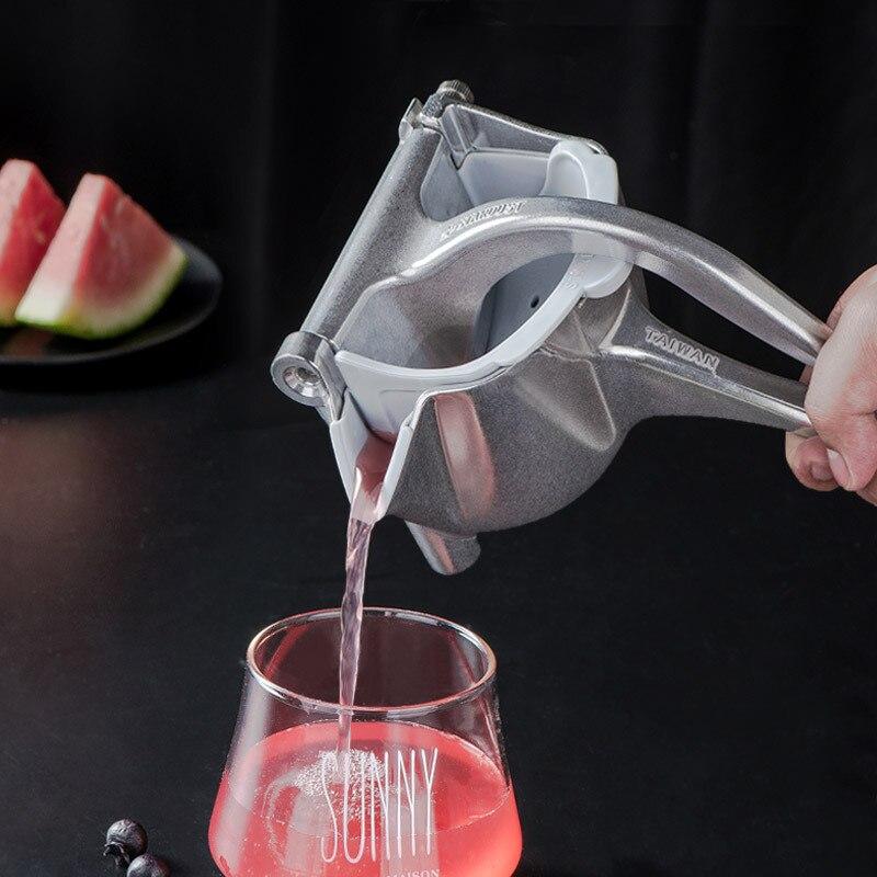 Commercial Grade Citrus Juicer Aluminum Alloy Heavy Duty Hand Press Manual Fruit Juicer Metal Juice Squeezer