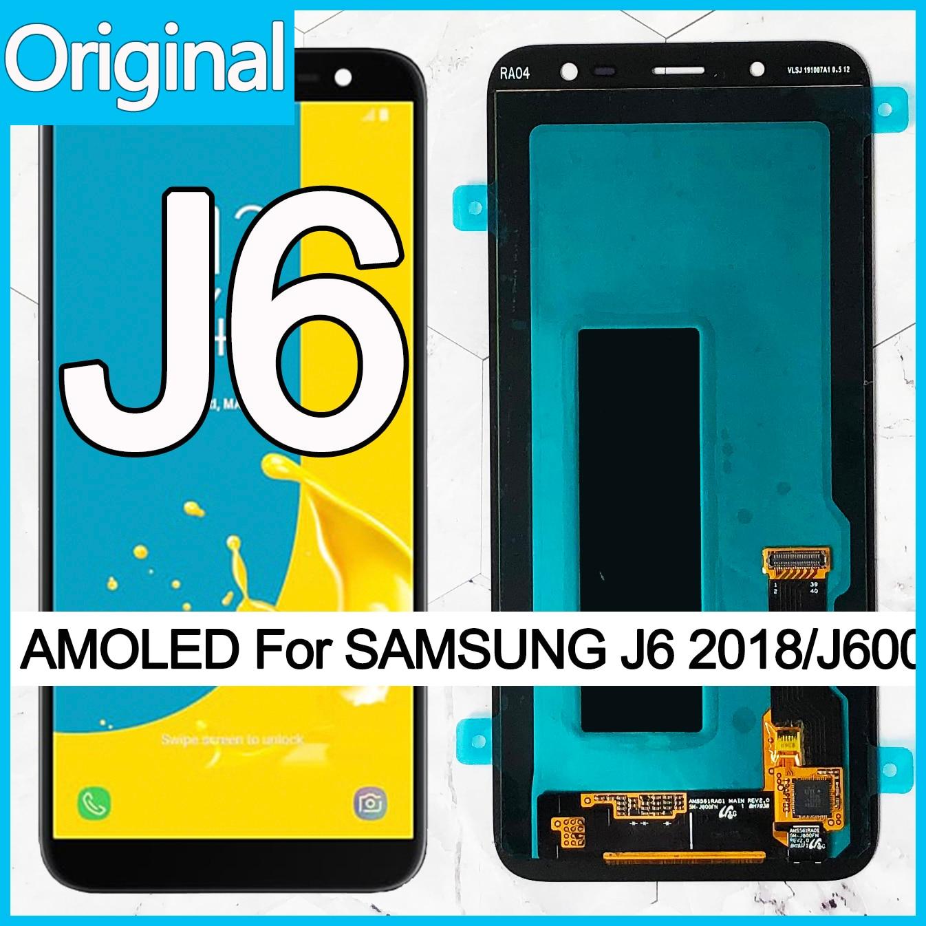 Оригинальный дисплей Super AMOLED для Samsung Galaxy J6 2018