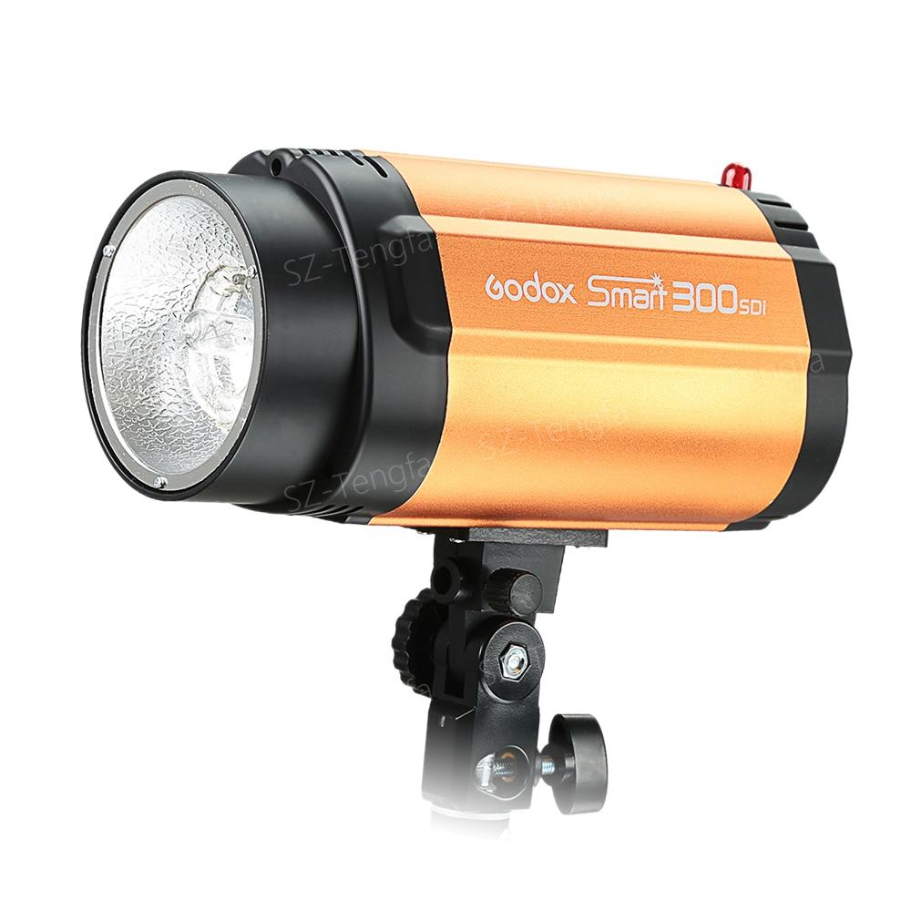 GODOX Inteligente 300SDI Luz 300w Pro Photography Studio Photo Flash Strobe Estúdio Lâmpada cabeça 220V 110V
