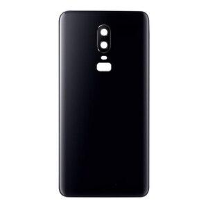 Image 3 - Оригинальный сменный задний корпус для Oneplus 6, задняя крышка, аккумулятор, стекло для One Plus 6, задний Сменный Чехол с логотипом