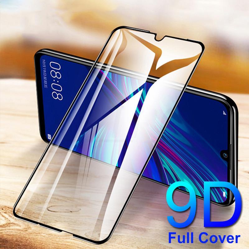 Cristal templado 9D para Huawei Mate 20 P30 Pro P20 Lite, cristal P smart 2019 Honor 10, Protector de pantalla, película de cristal de protección de seguridad
