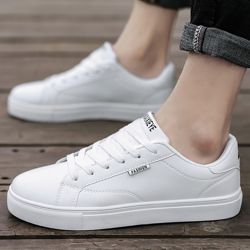 Classic Vulcan Leather Shoes Wholesale Mens Black White Sneakers Man Skateboard Shoes Sneakers Men Shoes Moccasins Flat Loafers stylish skateboarding shoes unisex classic white shoes men women leisure waterproof air cushion skateboard shoes flat sneakers