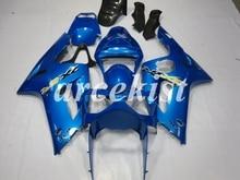 New ABS Injection Mold Motorcycle Fairings Kit Fit For Kawasaki Ninja ZX-6R 636 2003 2004 03 04 body set Blue