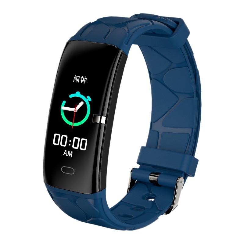Reloj inteligente E58 para hombre, mujer, Monitor de ritmo cardíaco, presión arterial, Fitness Tracker, reloj inteligente deportivo para Ios, Android