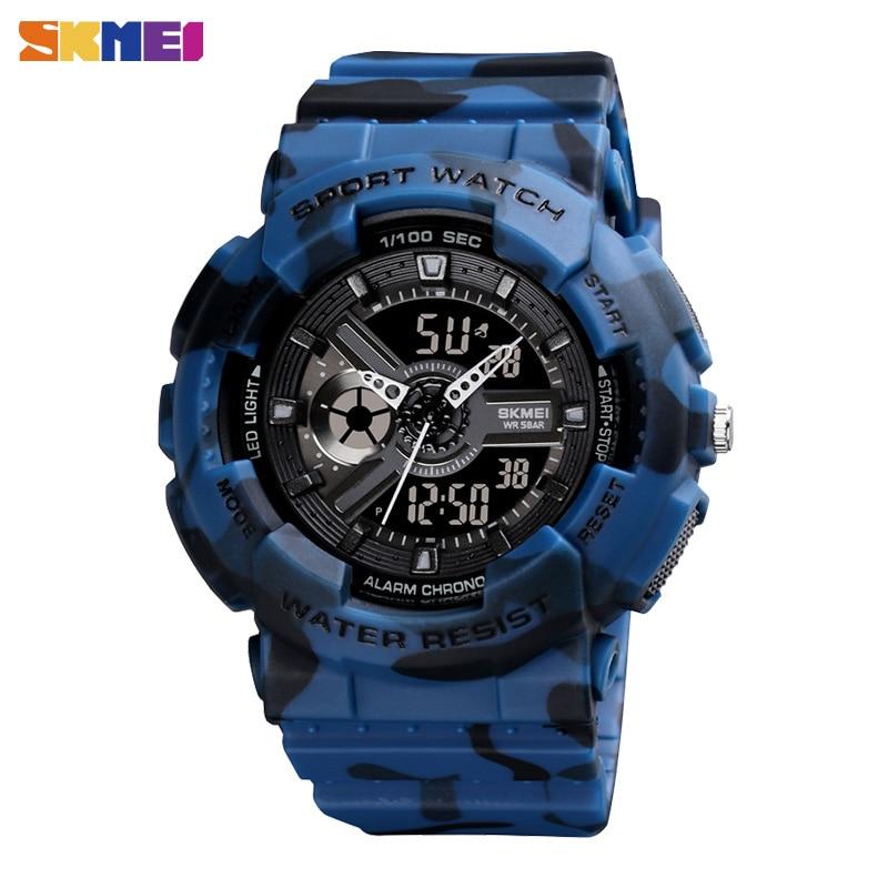 SKMEI Digital Youth Sport Watch Kids Watch Dual Stopwatch Alarm Watches Junior High College School Boys Girls Shockproof relo
