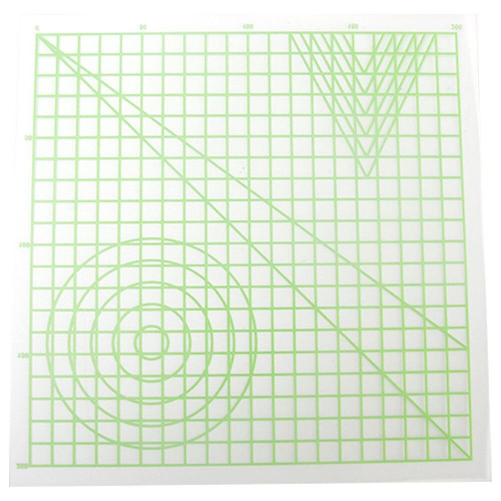 Силиконовые дизайнерские коврики для 3d-печати, товары для рукоделия, полезный инструмент для рисования, базовый шаблон, многообразный пода...
