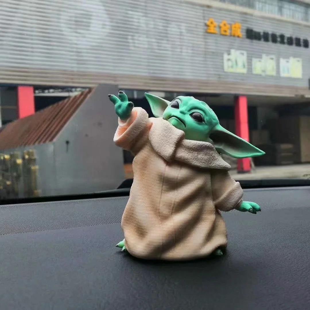 Little Baby YODA Statue 8cm Figure Toys