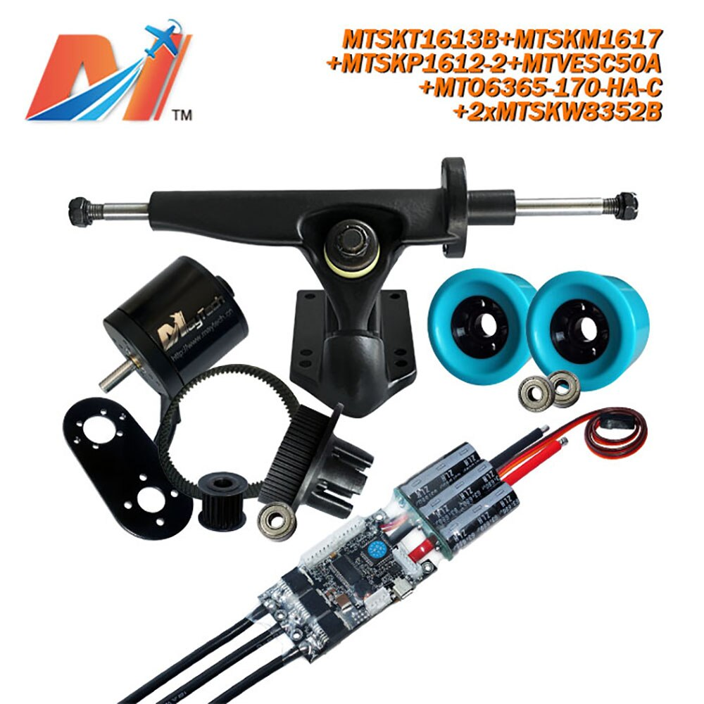 Maytech (UDS) motor de skateboard 6365 motor bldc kit para longboard