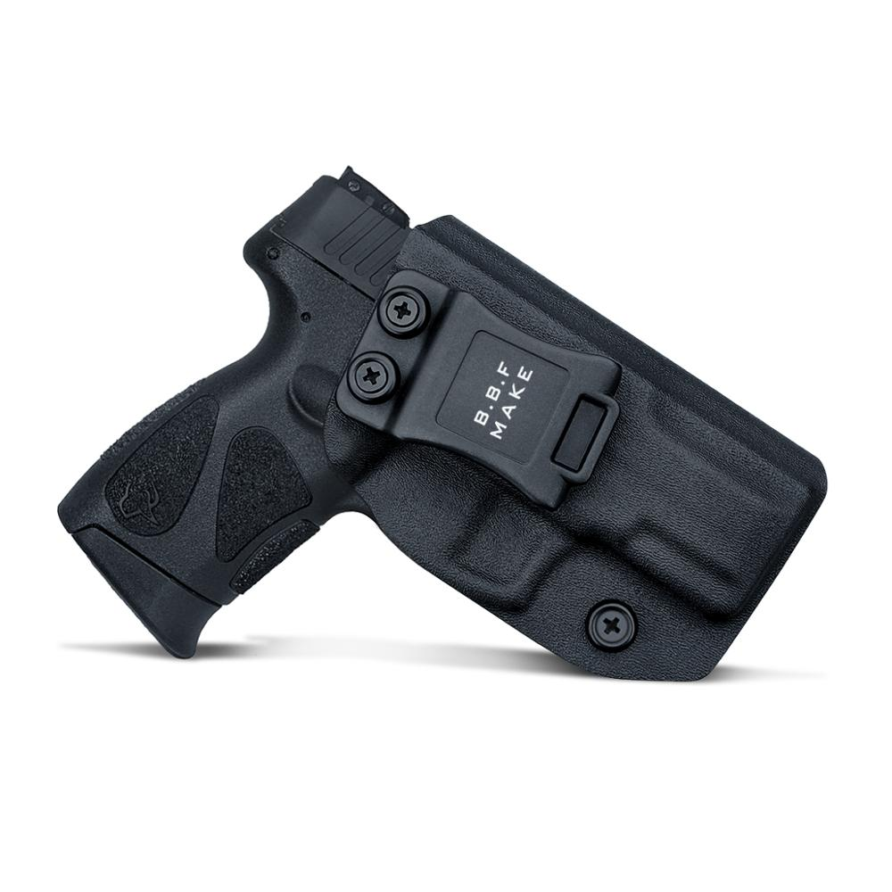 Кобура для пістолета IWB Kydex на замовлення: пістолет Taurus G2C 9 мм та пістолет Millennium PT111 G2 / PT140 - внутрішня кобура на поясі