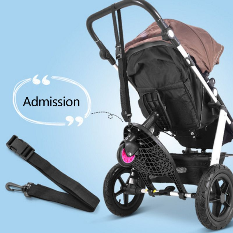 Stroller Auxiliary Pedal Second Child Artifact Trailer Twins Baby Cart Standing Plate Sitting Seat Stroller Accessory enlarge