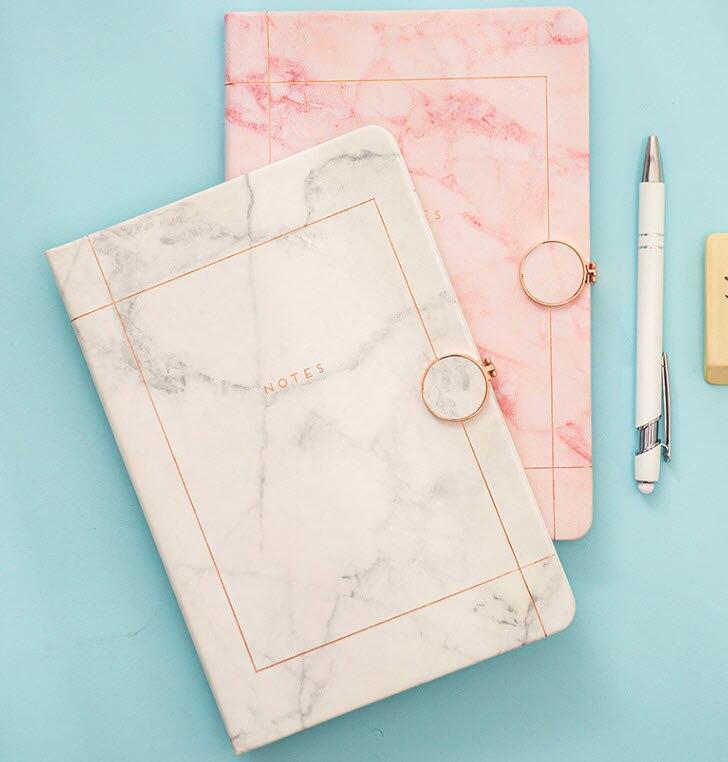 Ежедневник а5, ежедневник, магнитный журнал с мраморным рисунком, блокнот на застежке, записная книжка для офиса, путешествий, бизнеса