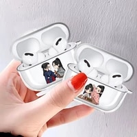 new popular word of honor shan he ling clear airpod case for apple airpods 3 pro cover wireless bluetooth earphone coque fundas