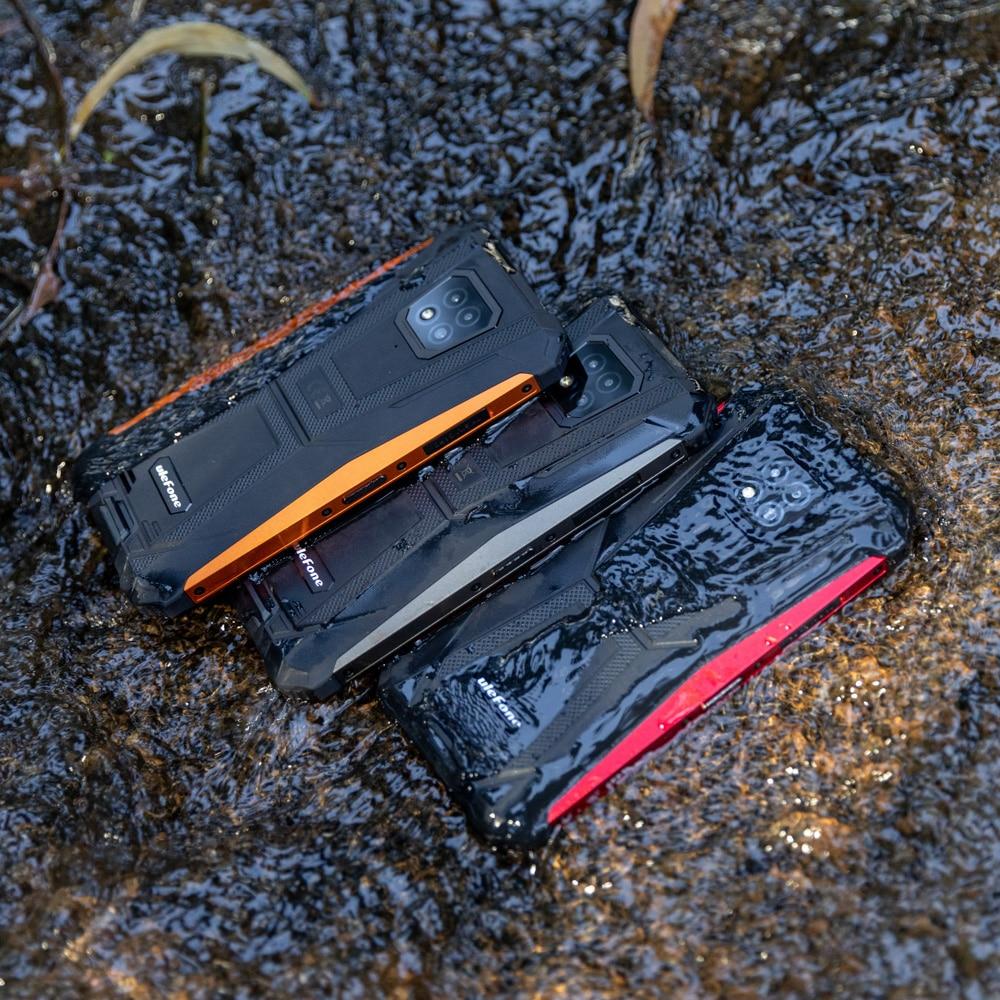 Ulefone-هاتف ذكي Armor 8, هاتف محمول متين IP68 هاتف ذكي 6.1 بوصة أندرويد 10 هاتف 4 جيجابايت + 64 جيجابايت متجر بلاي هيليو P60 ثماني النواة واي فاي