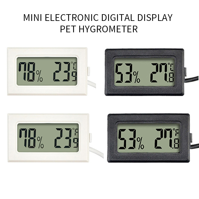 Digital Thermometer Humidity Electronic Instruments Hygrometer Temperature Gauge Meter Sensor Thermo