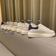 2021 Shoes Woman Sneakers Fashion New Plush Warm Ankle White Shoes Couple Shoes 34-44 Platforms Kids