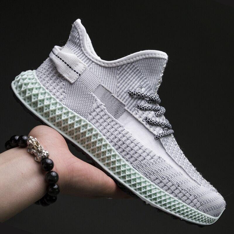 2021 wiosenne nowe męskie buty koreańskiej wersji trendu wszystkich dopasowanych męskich butów letnie oddychające sportowe buty do biegania rekreacyjnego