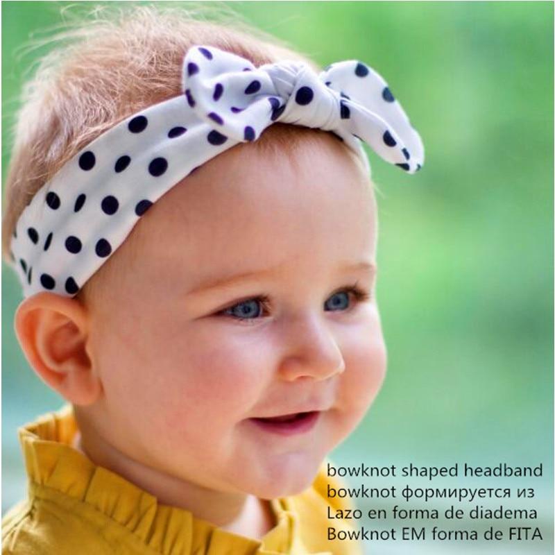 Newborns Cotton Turban Knotted Headband Toddlers DIY Headbands Girls Boys Bow hair band children kids Head Wrap Hair Accessories