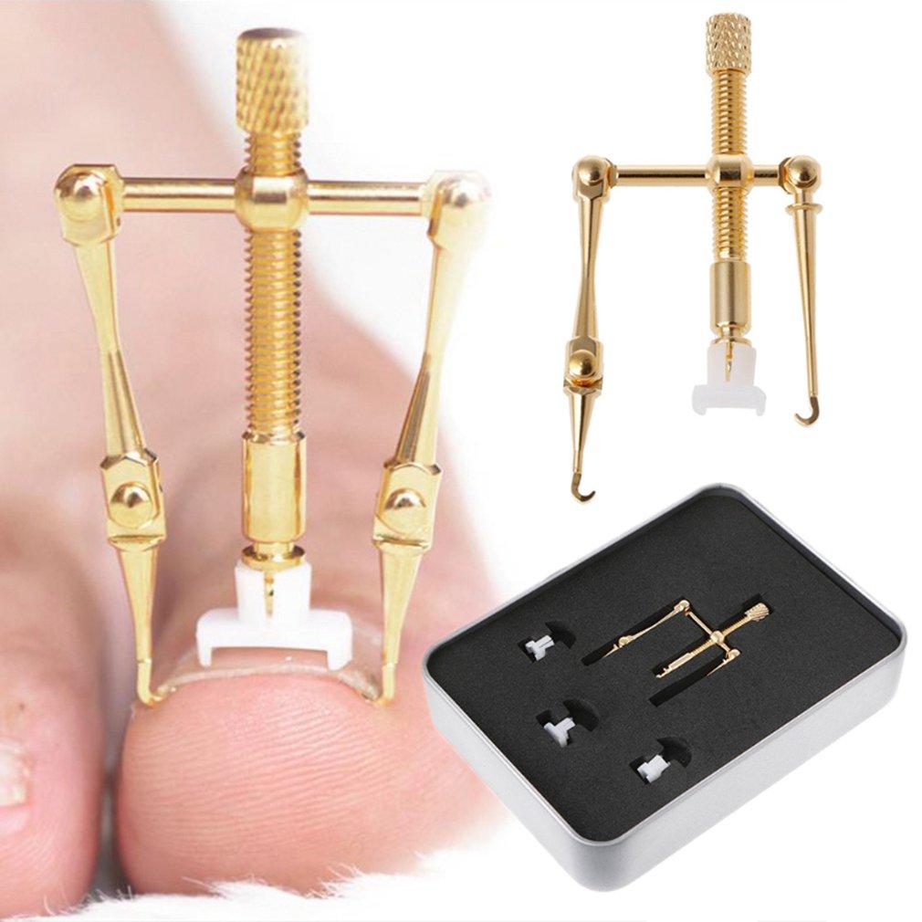Корректор вросших ногтей инструмент для коррекции ног для фиксации восстановление параличия пальцев ног скобы для ступней уход