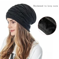 2021 unisex winter hats wool knitted hat men women warm and brushed outdoor casual skiing cap
