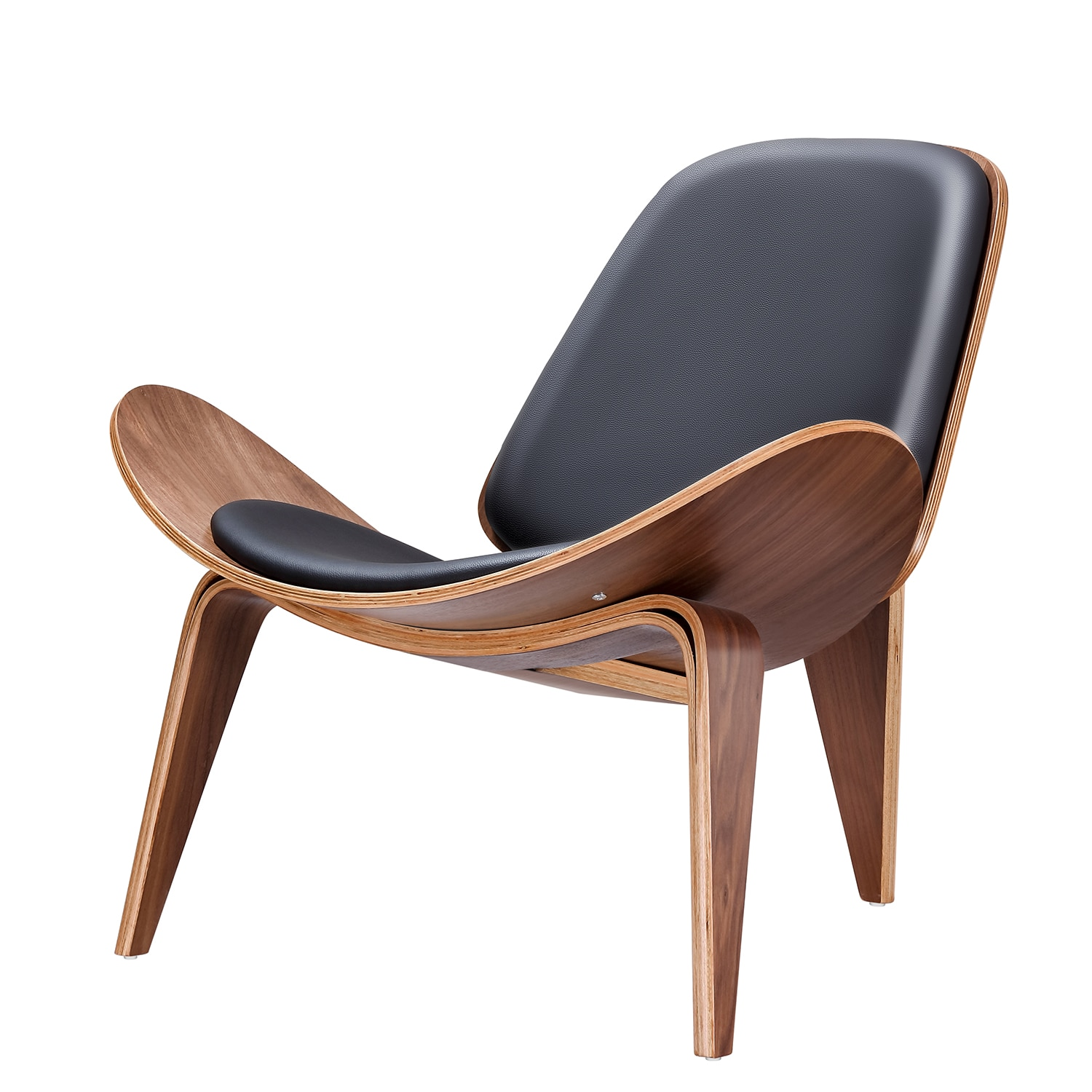 Furgle Replica Lounge Nordic Creative Simple Designer Single Sofa Chair Smile Airplane Shell Chair Dining Room Chairs
