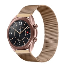 Cinturino magnetico per Samsung Galaxy watch 3 45mm/Active 2/46mm/42mm Gear S3 Frontier 20mm 22mm bracciale Huawei GT/2/2e/Pro band