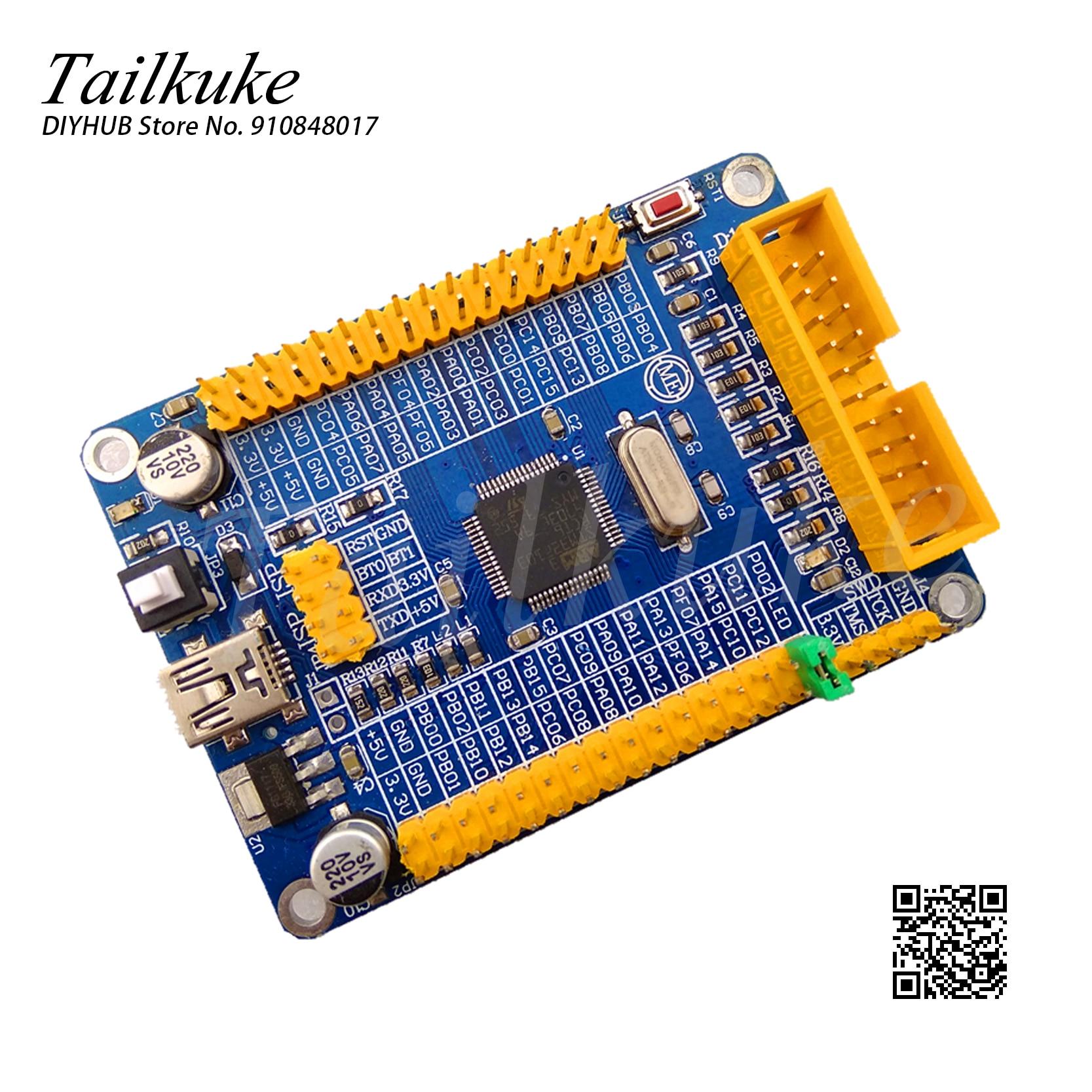STM32F103RCT6 مجلس تطوير نظام صغير رقاقة واحدة الحواسيب الصغيرة USB GPIO TTL