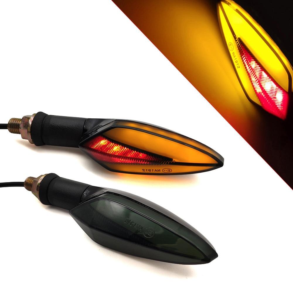 LED luz intermitente para motocicleta luces de cola Accesorios de Motor amarillo luz roja para BMW C600 C650 deporte C650GT C400GT S1000RR