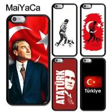 Turkish Ataturk Flag Coque Phone Case For iPhone 11 Pro Max X XR XS Max 5S SE 2020 6S 7 8 Plus TPU Cover