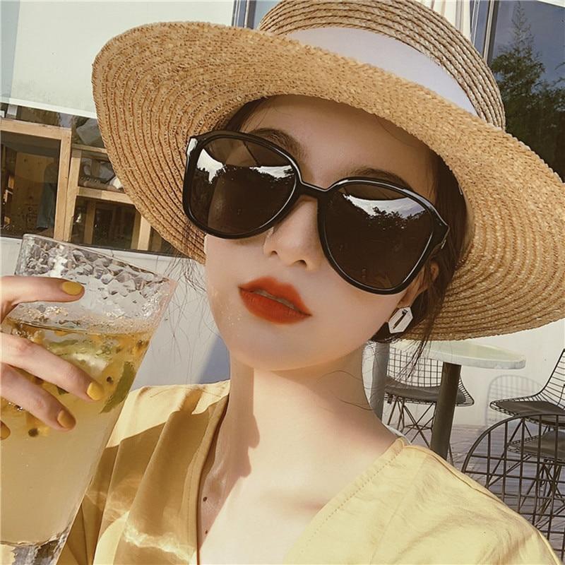 New Round Gradient Sunglasses Men Women Brand Designer Sun Glasses for Male Female Stylish Eyewear V