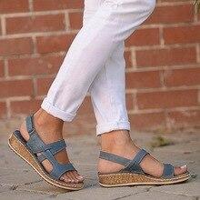 Litthing livraison directe été femmes sandales 3 couleurs couture sandales dames bout ouvert chaussures décontractées plate-forme cale diapositives chaussures de plage